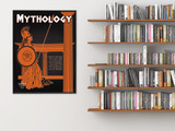 Mythology Literary Genre. Educational Classroom Poster. Paper, Laminated, or Framed. Multiple Sizes