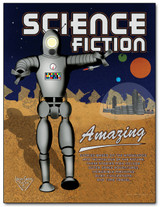 Science Fiction Literary Poster
