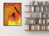 Climax Literary Element of a Novel. Educational Classroom Poster featuring Fahrenheit 451 by Ray Bradbury. Multiple Sizes.