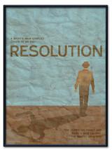 Resolution Poster Framed