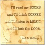 I'll Read My Books Poster
