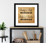Painting is Poetry, Poetry is a Painting - Leonardo Da Vinci Inspirational Quote Fine Art Print For Classroom, Library, Home or Nursery