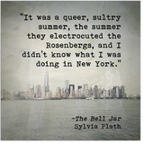Queer Sultry Summer Sylvia Plath Inspirational Literary Quote. Fine Art Paper, Laminated, or Framed. Multiple Sizes Available for Home, Office, or School.
