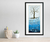 Older Than The Trees. Mountaineer West Virginia Quote Print. Fine Art or Framed.