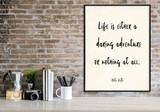 Helen Keller Daring Adventure Vintage Style Inspirational Quote Print. Fine Art Paper, Laminated, or Framed. Multiple Sizes.