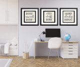 Dorm Sweet Dorm Inspirational Quote Print. Fine Art Paper, Laminated or Framed. Multiple Sizes