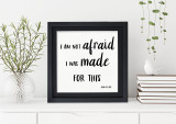 Made for This Spiritual and Inspirational Bible Verse Print. Fine Art Paper, Laminated, or Framed. Multiple Sizes