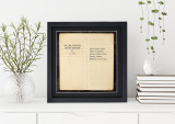 The Lion, The Witch, and The Wardrobe - C.S. Lewis, Opening Line Children's Literary Quote Print. Fine Art Paper, Laminated, or Framed. Multiple Sizes Available for Home, Office, or School.