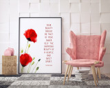 Spiritual Quote Poster Set of Four. Inspirational Quote Print.  Fine Art Paper, Laminated, or Framed. Multiple Sizes Available for Home, Office, or School.