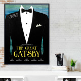 The Great Gatsby- F. Scott Fitzgerald - Classic Novel Literary Print. Fine Art Paper, Laminated, or Framed. Multiple Sizes Available