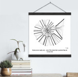 Cornelia Funke Literary Quote Print. Fine Art Canvas with Hanger.