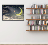 One Library Holds a Universe of Stories Quote Fine Art Print. Multiple Sizes and Styles for Library, Home, Office, or School