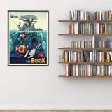 The Movie vs The Book Original Literary Art Print. Fine Art Paper, Laminated, or Framed. Multiple Sizes for Home, Office, or School.