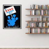 Be Kind to Books Club Literary Print. Fine Art Paper, Laminated, or Framed. Multiple Sizes for Library, Home, Office, or School