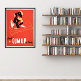 Don't Gum Up a Book Print. Fine Art Paper, Laminated, or Framed. Multiple Sizes for Library, Home, Office, or School