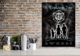 A Wrinkle in Time. YA Literary Art Print. Matte Paper, Laminated or Framed. Multiple Sizes