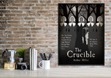 The Crucible. Art Print based on the American play. Matte Paper, Laminated or Framed. Multiple Sizes