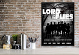 Lord of the Flies. Art Print based on the classic novel. Matte Paper, Laminated or Framed. Multiple Sizes