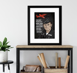 Chuck Yeager The Best Pilots Quote Art Print. Matte Paper, Laminated or Framed. Multiple Sizes