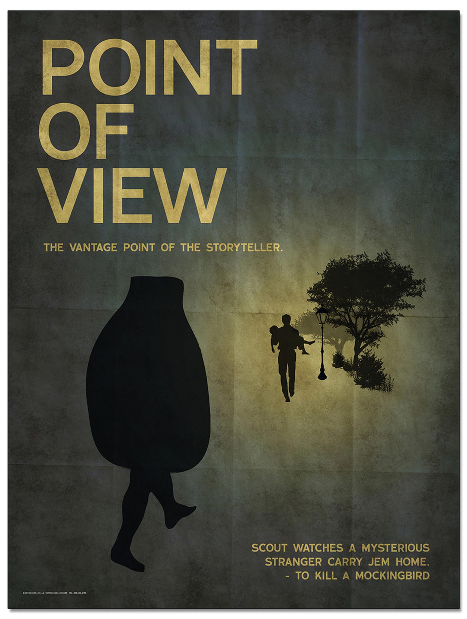 to kill a mockingbird point of view