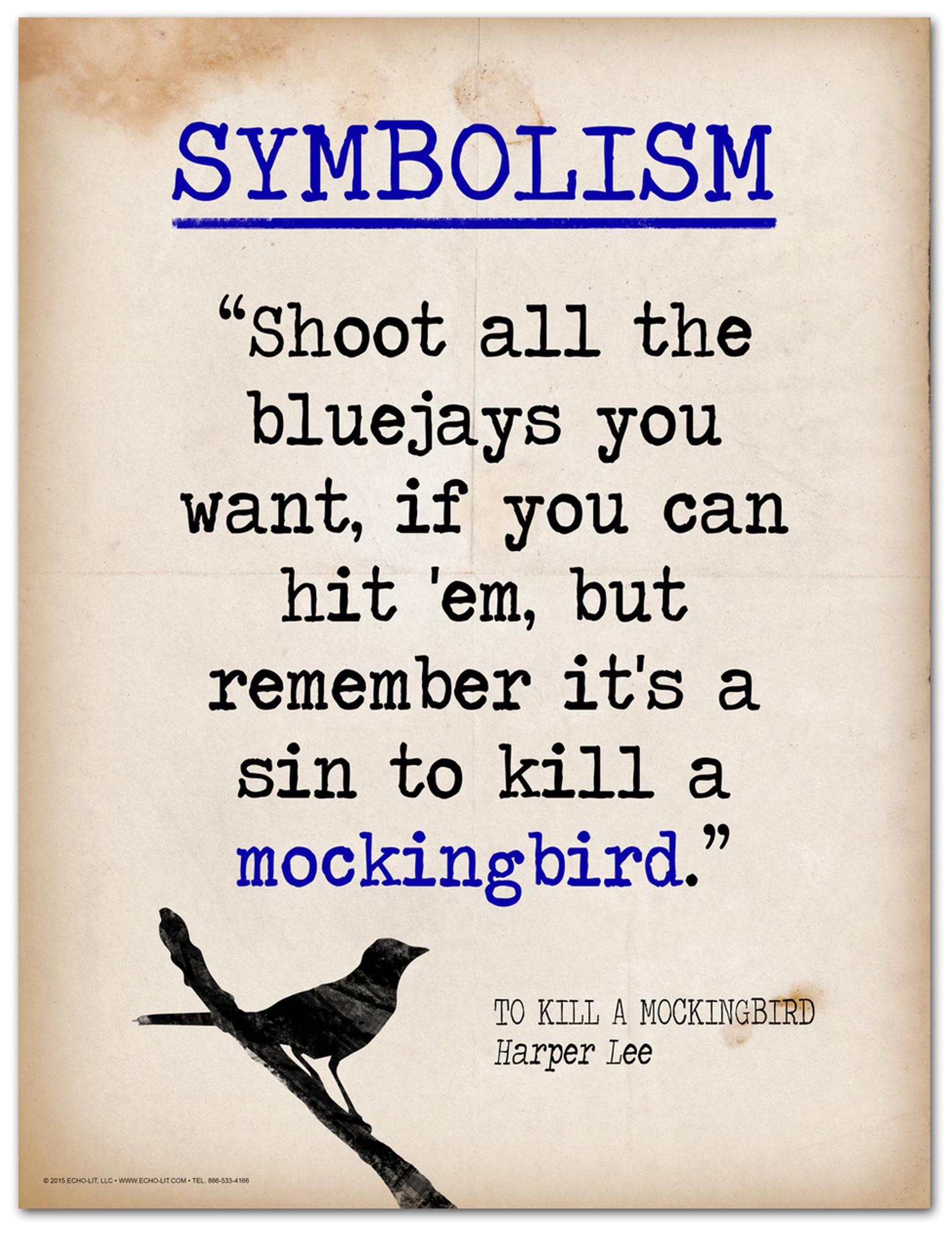 tkam mockingbird symbolism