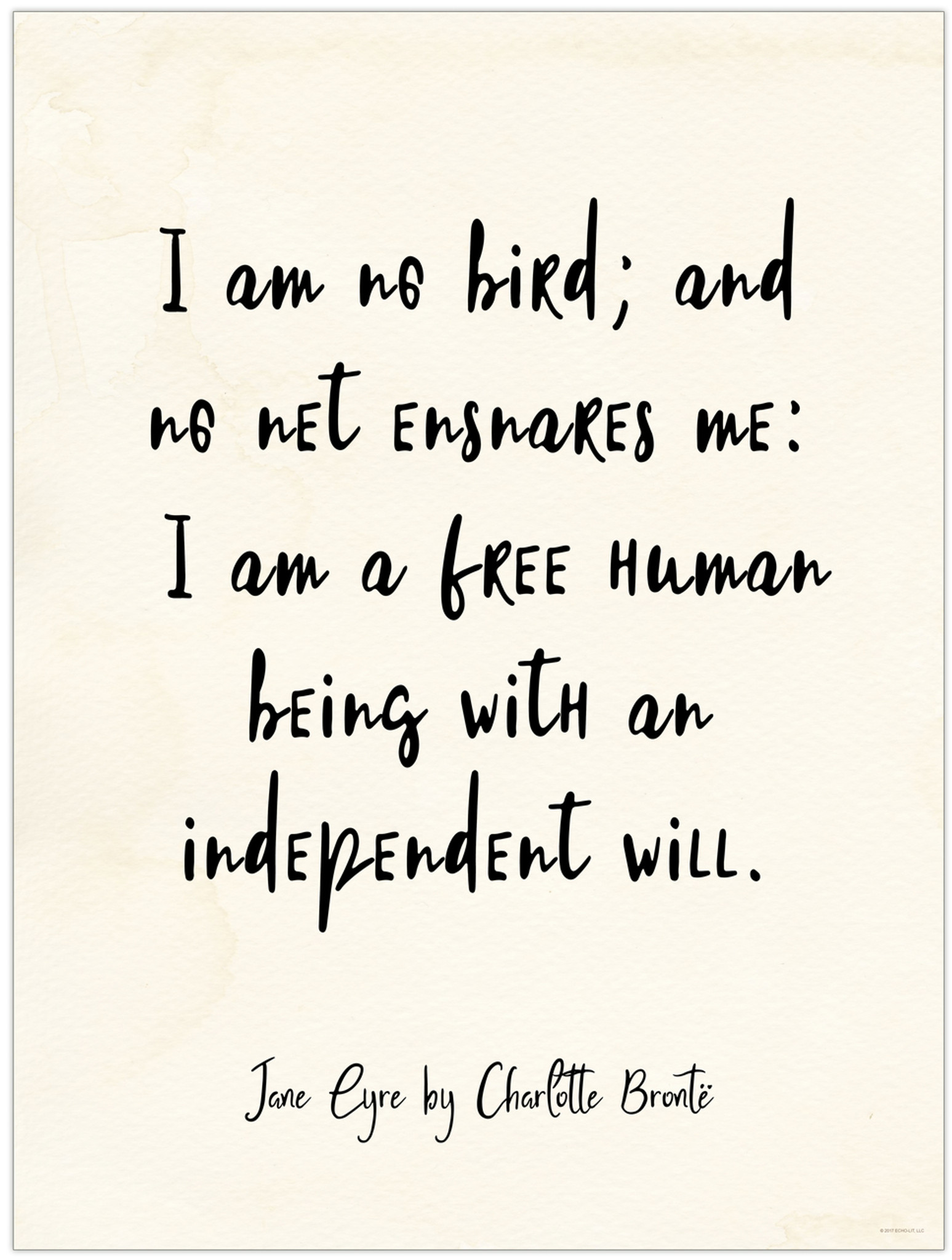 jane eyre independence