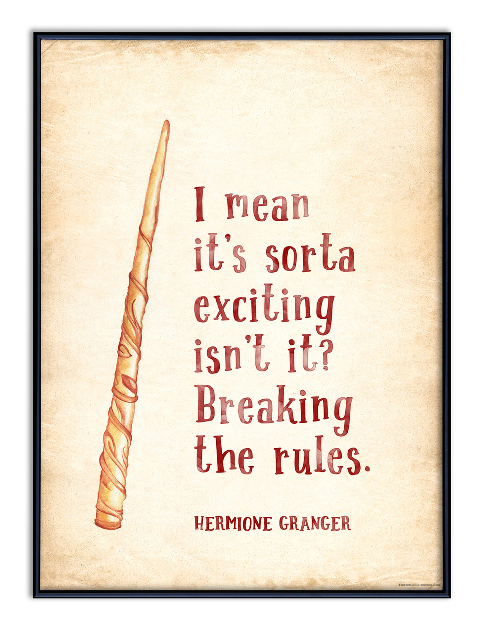 Harry Potter Quote Poster Set Of 3 Harry Ron Hermione Quotes