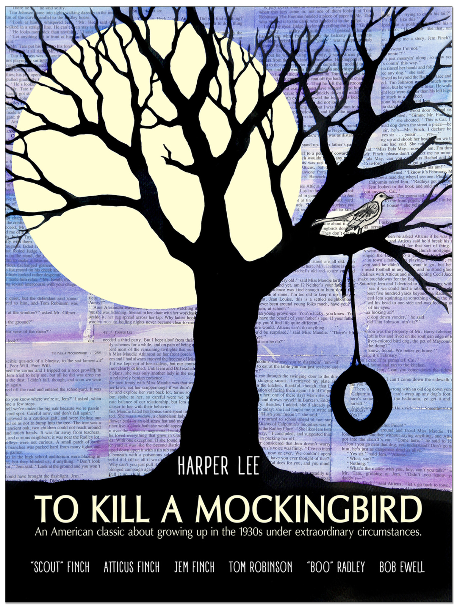 never kill a mockingbird