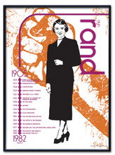 Ayn Rand Literary Poster