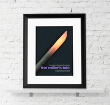 Canterbury Tales - Geoffrey Chaucer Literary 6-Poster Set. Literary Art Prints. Fine Art Paper, Laminated, or Framed. Multiple Sizes for Home, Office, or School