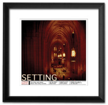 Setting Literary Poster