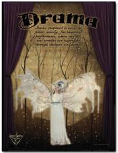 Drama Literary Poster