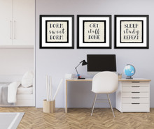Dorm Sweet Dorm - Fine Art Print For Dorm, Classroom, or Home.