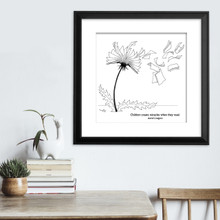 Astrid Lindgren Book Quote Literary Fine Art Print for Home, Classroom, or Library