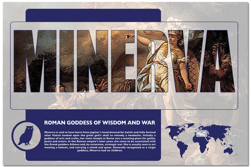 Minerva - Mythology Classroom Poster. Available for Home ...
