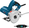 Buy Bosch GDC 125 Diamond tile cutter online at GZ Industrial Supplies The most important data  Here you will find the most important technical data for your professional Bosch tools at a glance! Rated input power 1,300 W Idling speed 12,000 min-1 weight 2.7 kg Disc Diameter 125 mm operating mode wet