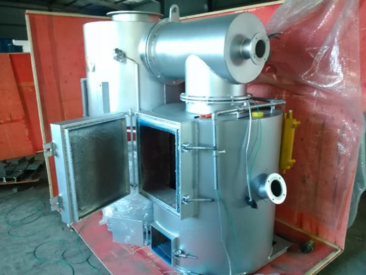 medical and hazardous waste incinerator
