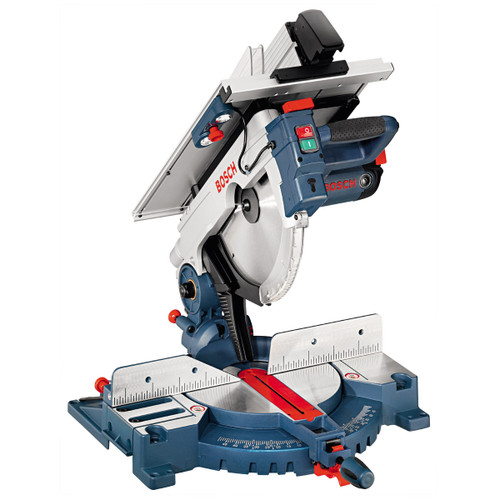 Bosch combination saw GTM 12  Table saw and mitre saw in one tool Precise work with integrated laser Powerful 1800 W motor for fast work progress (up to 95 mm cutting depth – mitre function and up to 51 mm cutting height – table saw function)