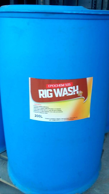 Epochem 505 Rig wash Industrial Cleaner 200L drum