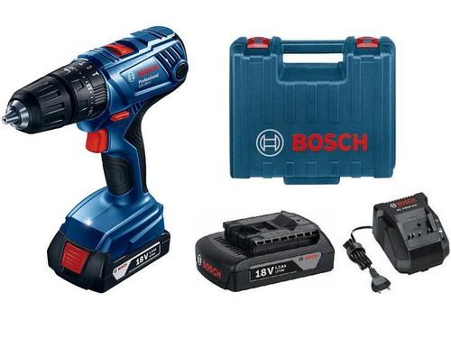 Bosch Professional Cordless Drill/Driver Combi  GSR 180-Li Plus Accessories