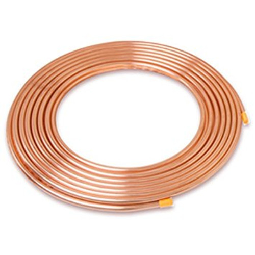 "Refrigeration Tube IUSA 1/4"" Soft Copper"