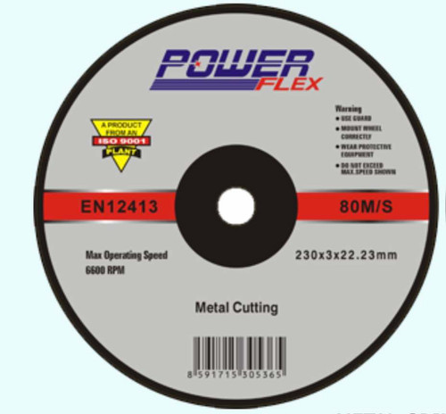 Powerflex 9 inch grinding disc