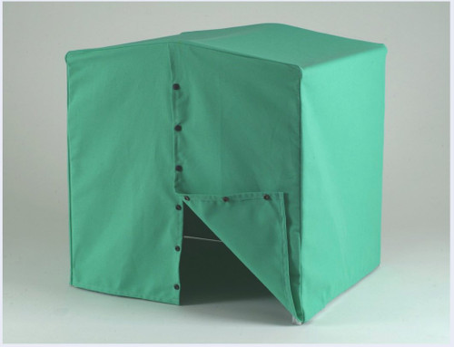 Welders welding tent heavy duty canvas 2m X 2m x2m with frame