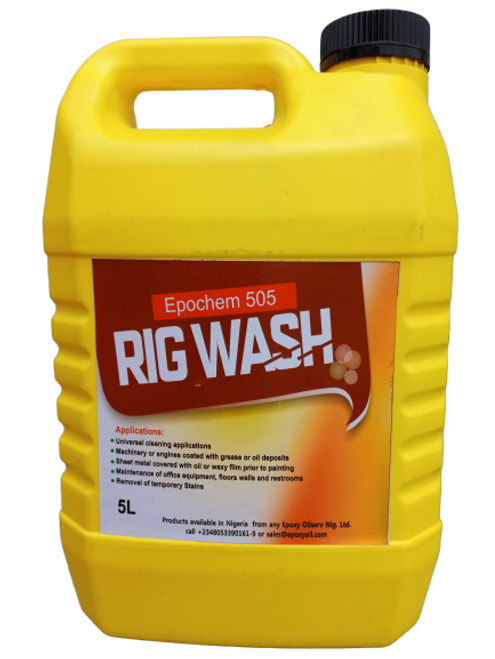 Epochem 505 Rig wash Industrial Cleaner 5Liters keg