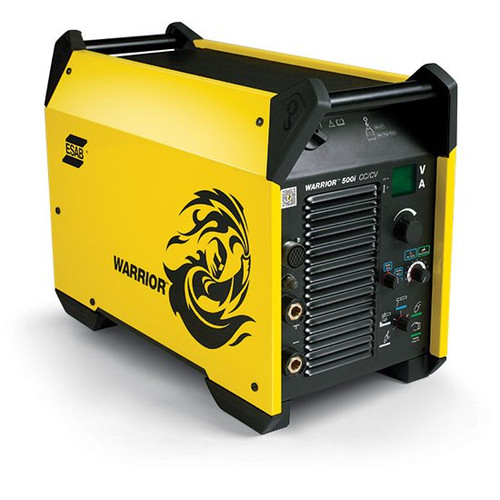 Esab warrior 500i Multipurpose Inverter arc welding machine - front