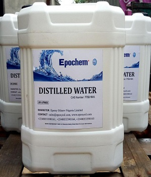 Epochem Distilled Water 25 Liters