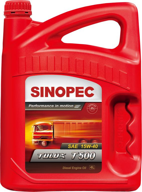 Sinopec Tulux T500 15W-40 Diesel Engine Oil