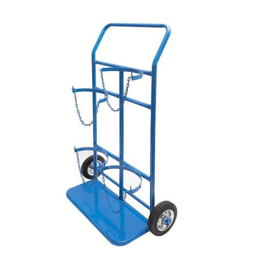 Hellog Oxygen and Acetylene cylinder trolley model 004