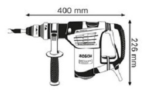 Bosch GBH 4-32 DFR + GMS 100M Professional Rotary Hammer with SDS-plus