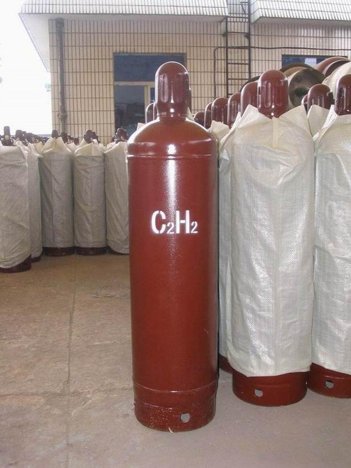 Disolved Acetylene gas 40 litters cylinders (empty bottle returnable)